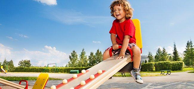 Seguridad en los parques infantiles