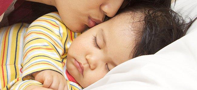 Sudor de los niños al dormir