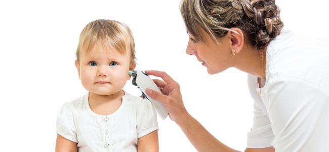 ¿Es exacto el termómetro de oído para bebés?
