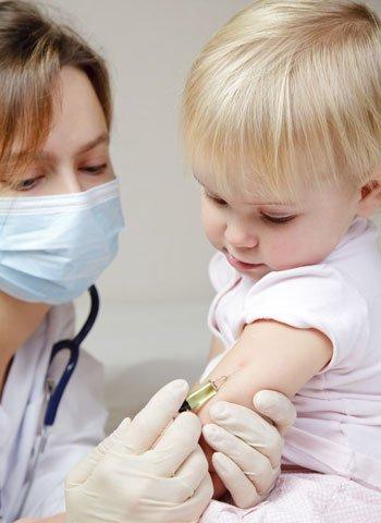 Vacuna del sarampión para bebés