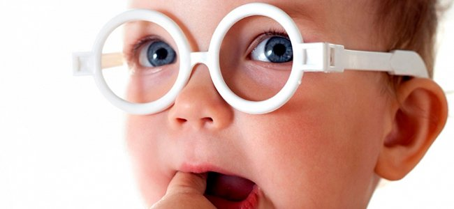 La visión de bebés y niños