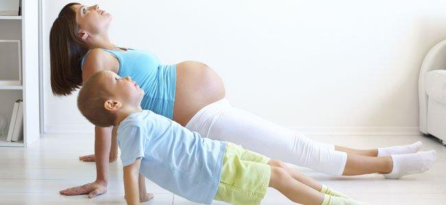 Yoga para mamás, hijos y bebés