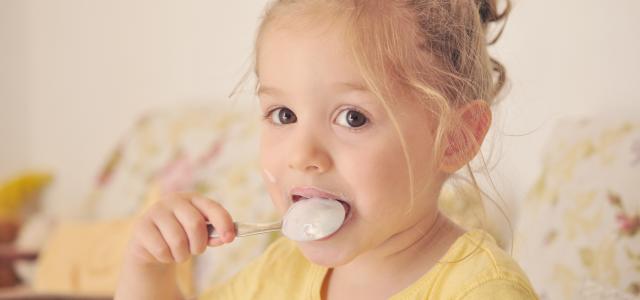 El yogur en los niños