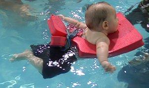 Tabla de iniciación agua bebés
