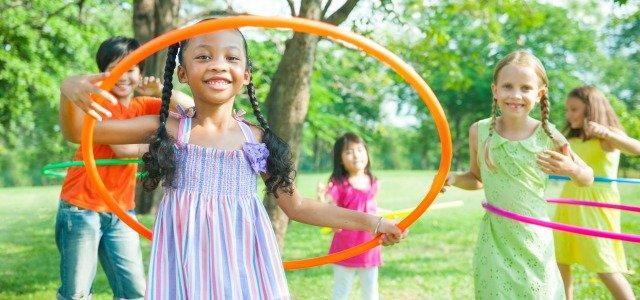 Ventajas del hula hoop para niños