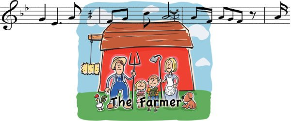 Canción en inglés The farmer