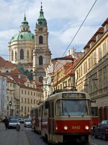Desplazarse en Praga con niños