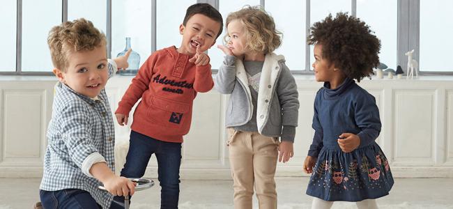 Ropa para que los niños aprendan a vestirse solos