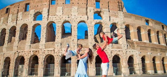 Guía para viajar a Roma con los niños