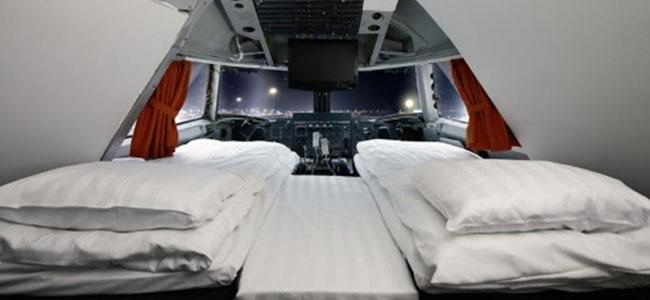 Los mejores hoteles del mundo para viajar con niños: Jumbo Jet Hostel
