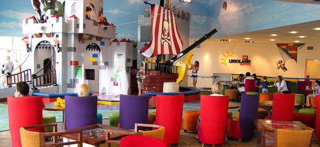 Los mejores hoteles del mundo para viajar con niños: Legoland