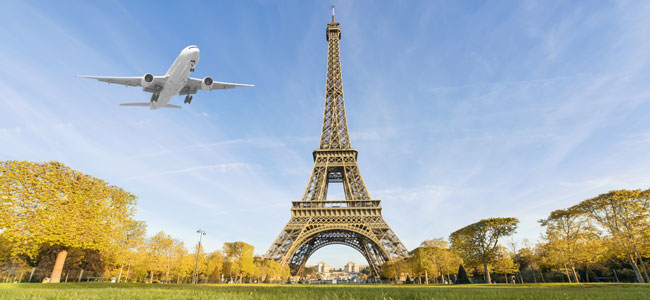 Elegir el transporte para ir a París con niños