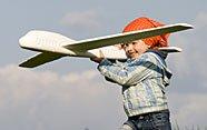 Viajar para niños