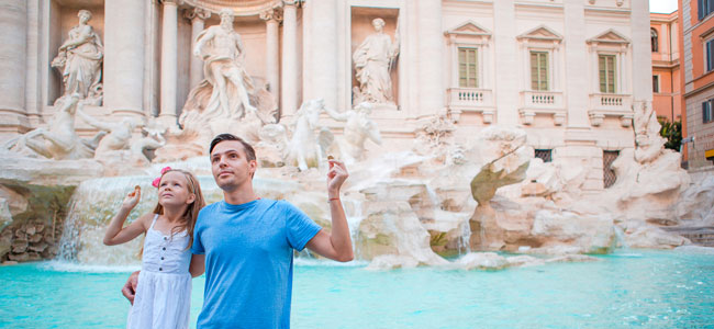 Guía de viaje para Roma con niños
