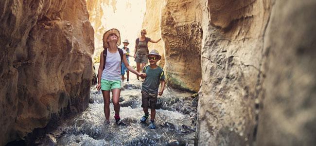 La importancia de viajar en familia